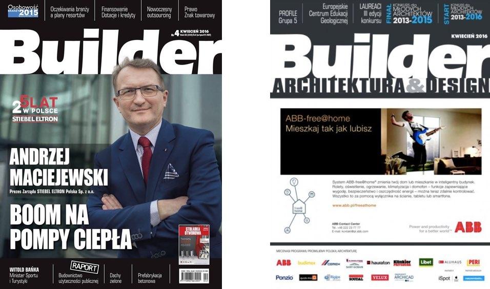 BUILDER – KWIECIEŃ 2016