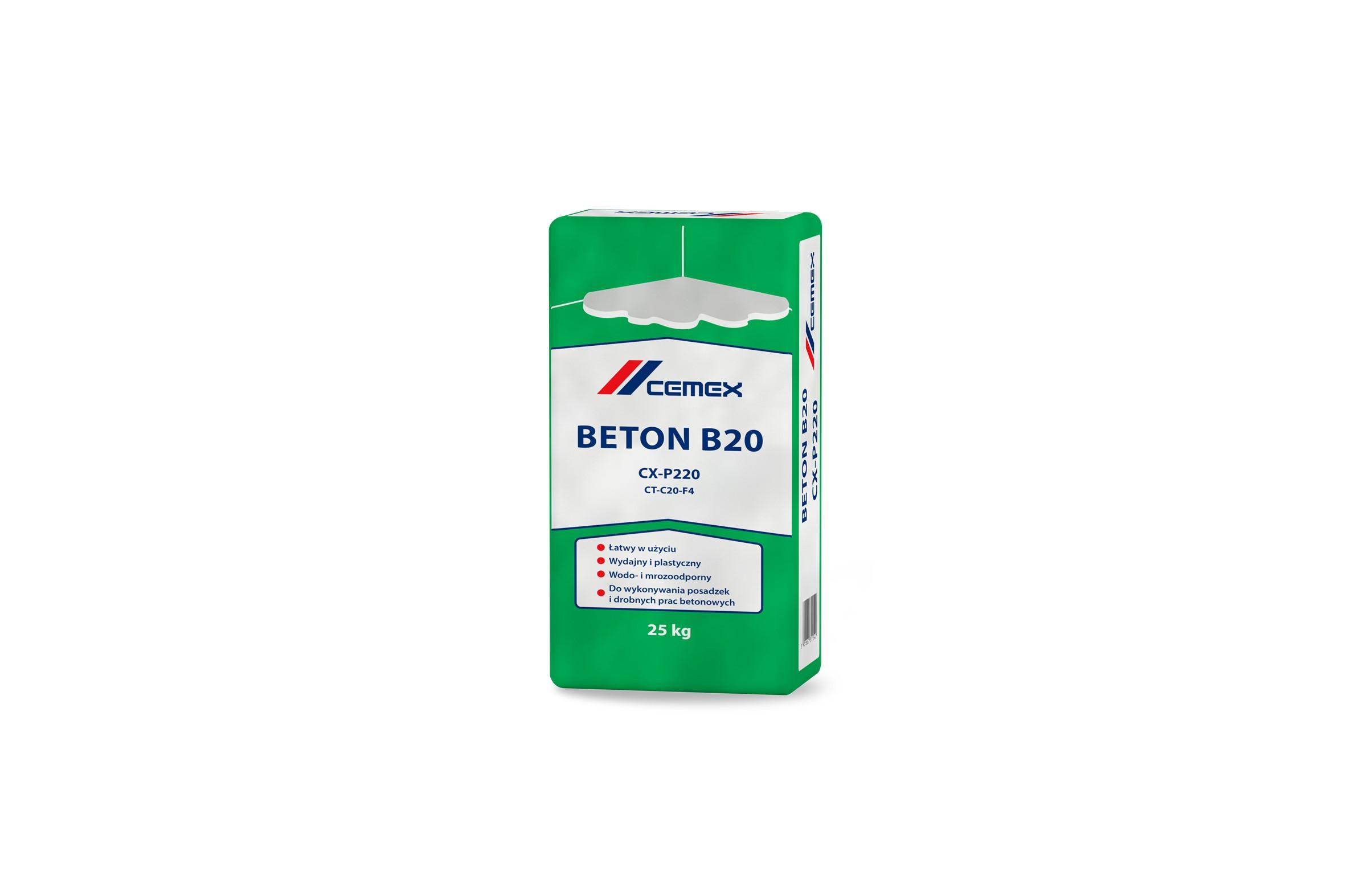 NOWY PRODUKT W OFERCIE CEMEX – BETON B20