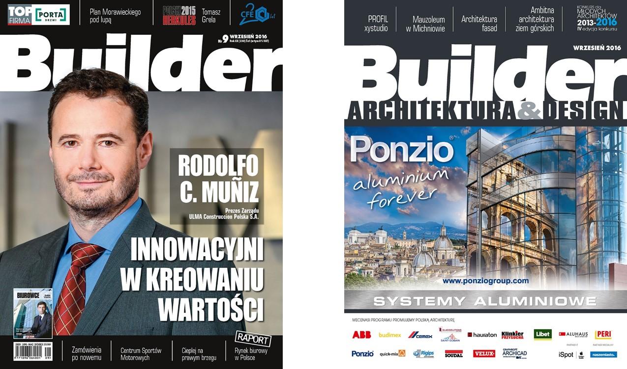 BUILDER – WRZESIEŃ 2016