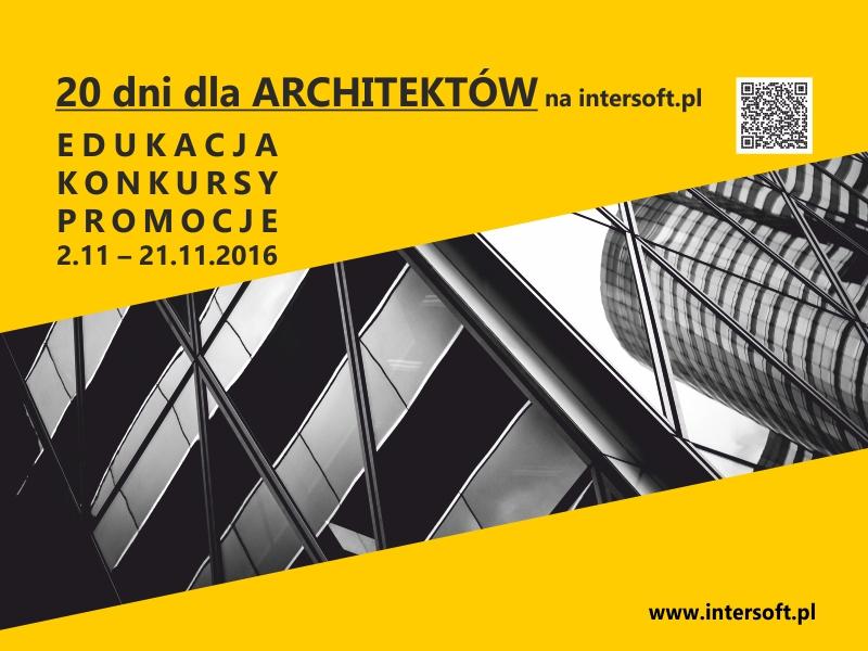 20 DNI DLA ARCHITEKTÓW w firmie INTERsoft