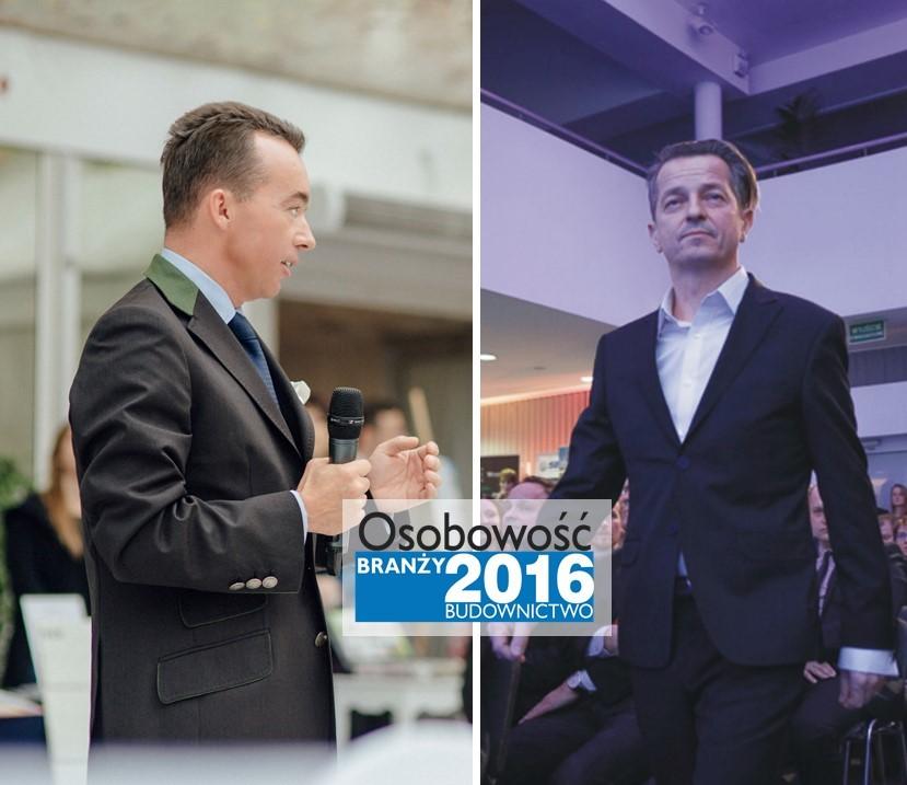 DR RAFAŁ BARYCZ I DR PAWEŁ SARAMOWICZ – OSOBOWOŚĆ BRANŻY 2016
