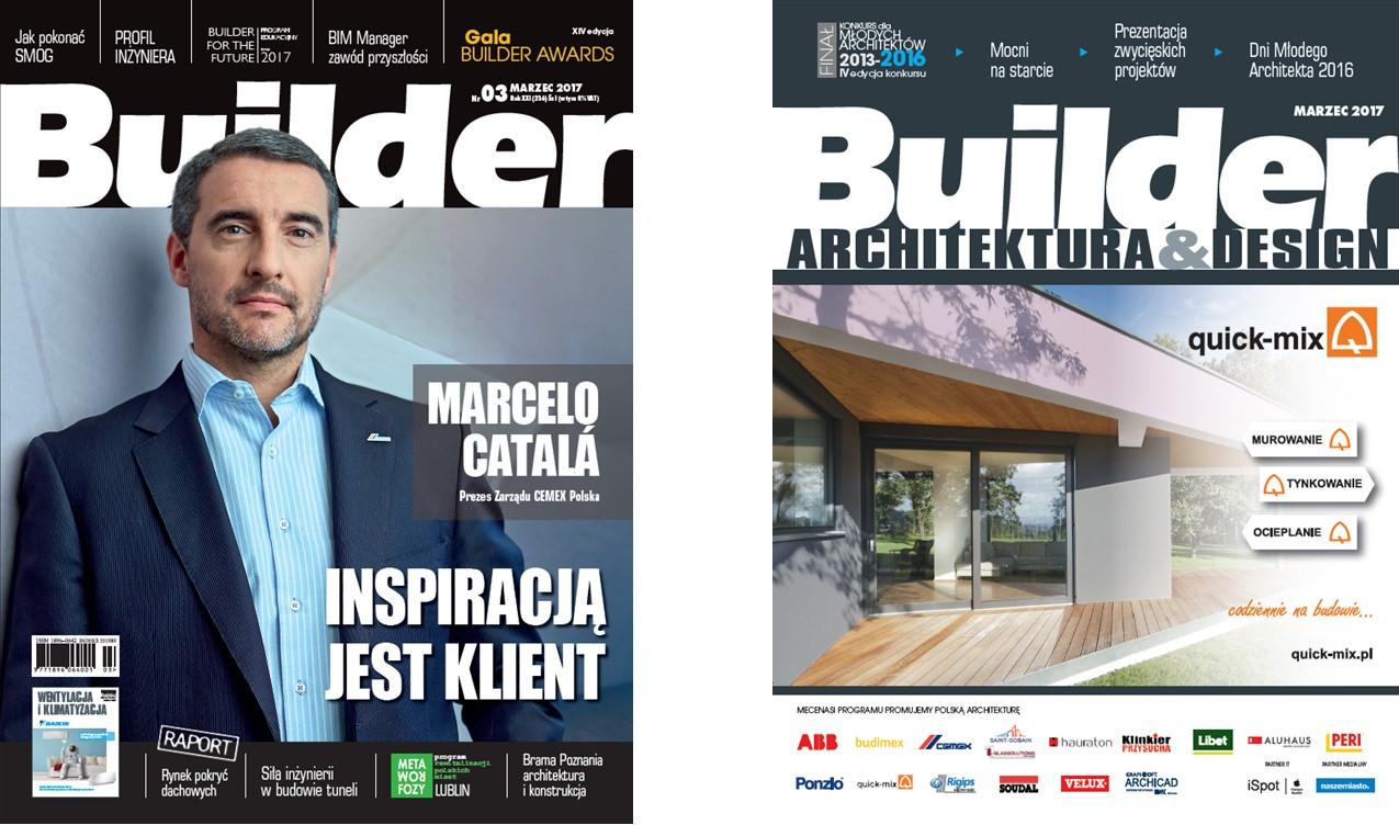 BUILDER – MARZEC 2017