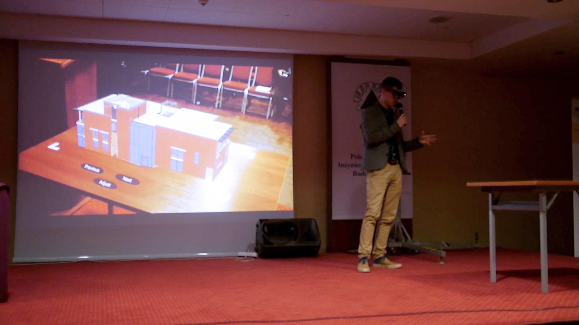 TECHNOLOGIA HoloLens podczas WPPK