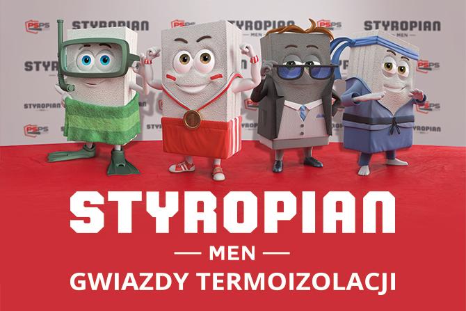 """""""STYROPIAN.MEN – GWIAZDY TERMOIZOLACJI"""""""