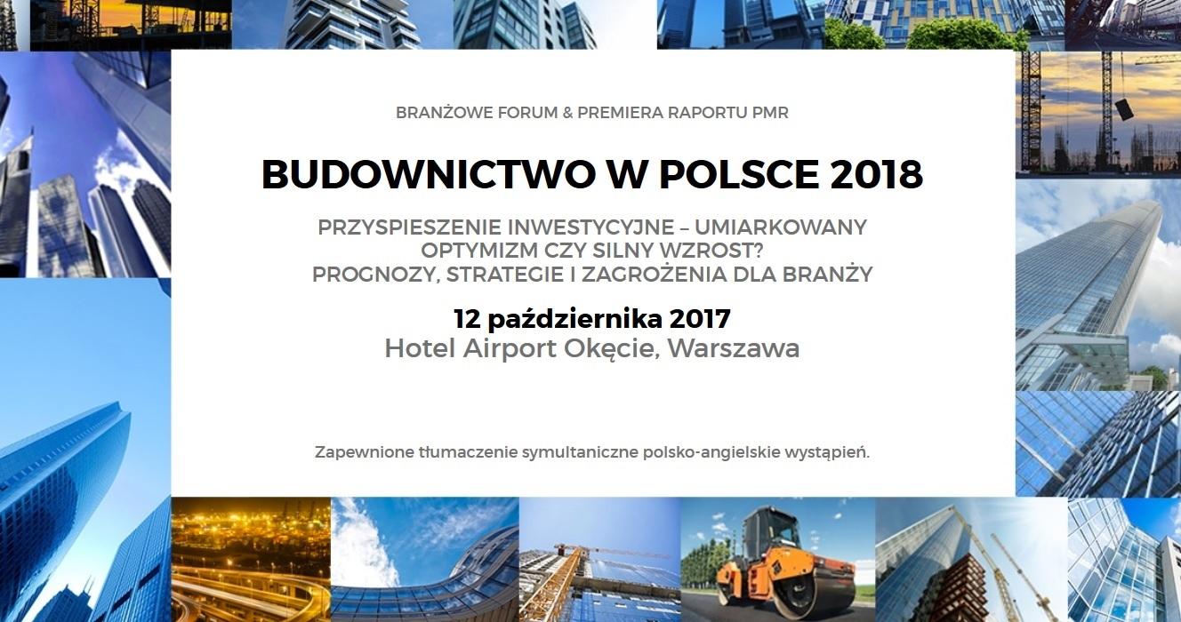 BUDOWNICTWO W POLSCE 2018