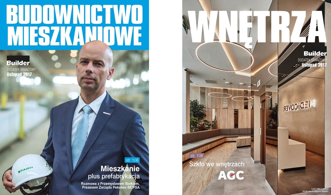 BUILDER – DODATEK BRANŻOWY – LISTOPAD 2017