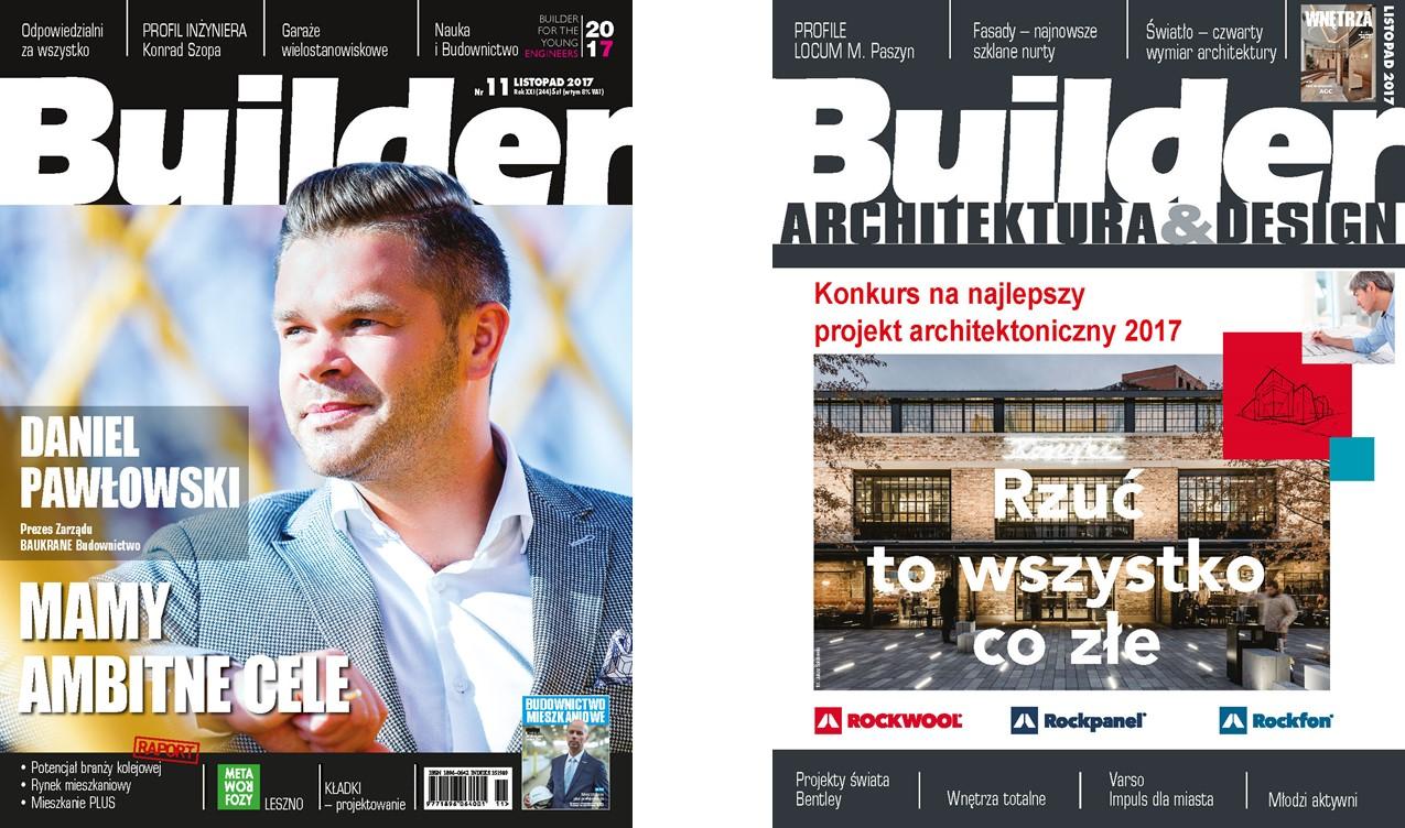 BUILDER – LISTOPAD 2017