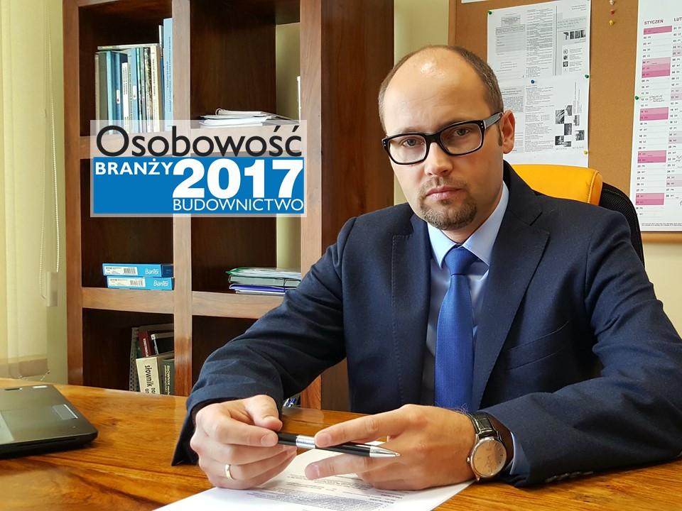 DR INŻ. ARTUR KISIOŁEK – OSOBOWOŚĆ BRANŻY 2017