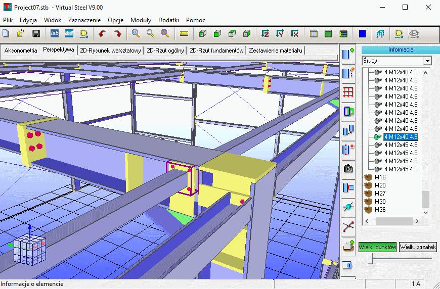 Nowa wersja programu Virtual Steel
