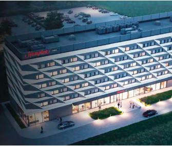 Hampton by Hilton w podkrakowskich Balicach