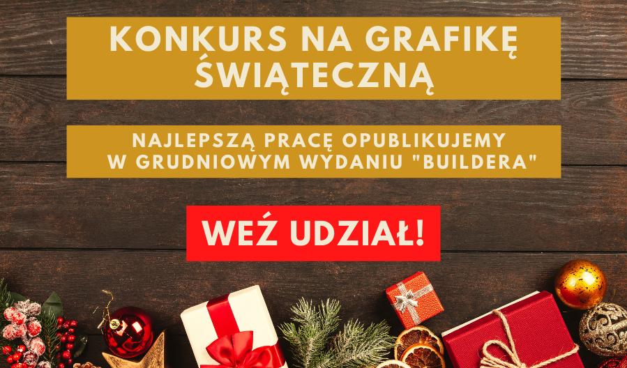 """KONKURS """"ŚWIĄTECZNA GRAFIKA DLA BUILDERA"""""""