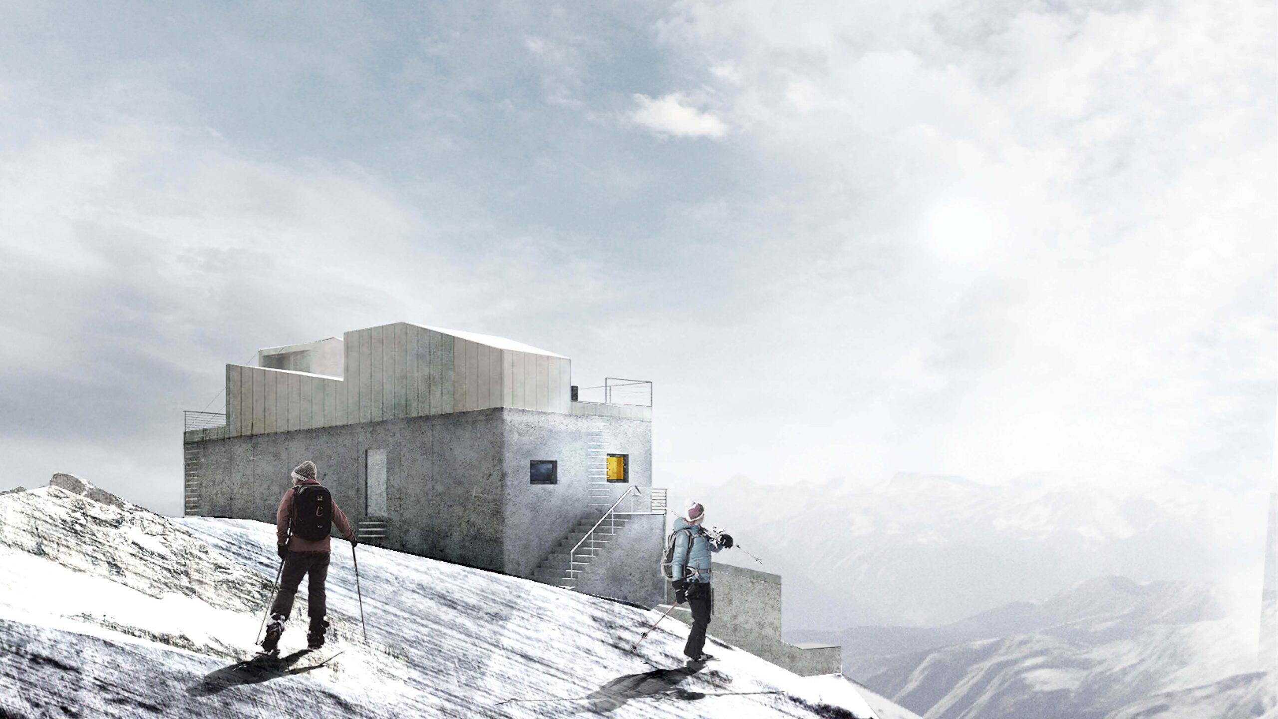 Architektura kryzysu klimatycznego – rewitalizacja opuszczonych ośrodków narciarskich w Alpach