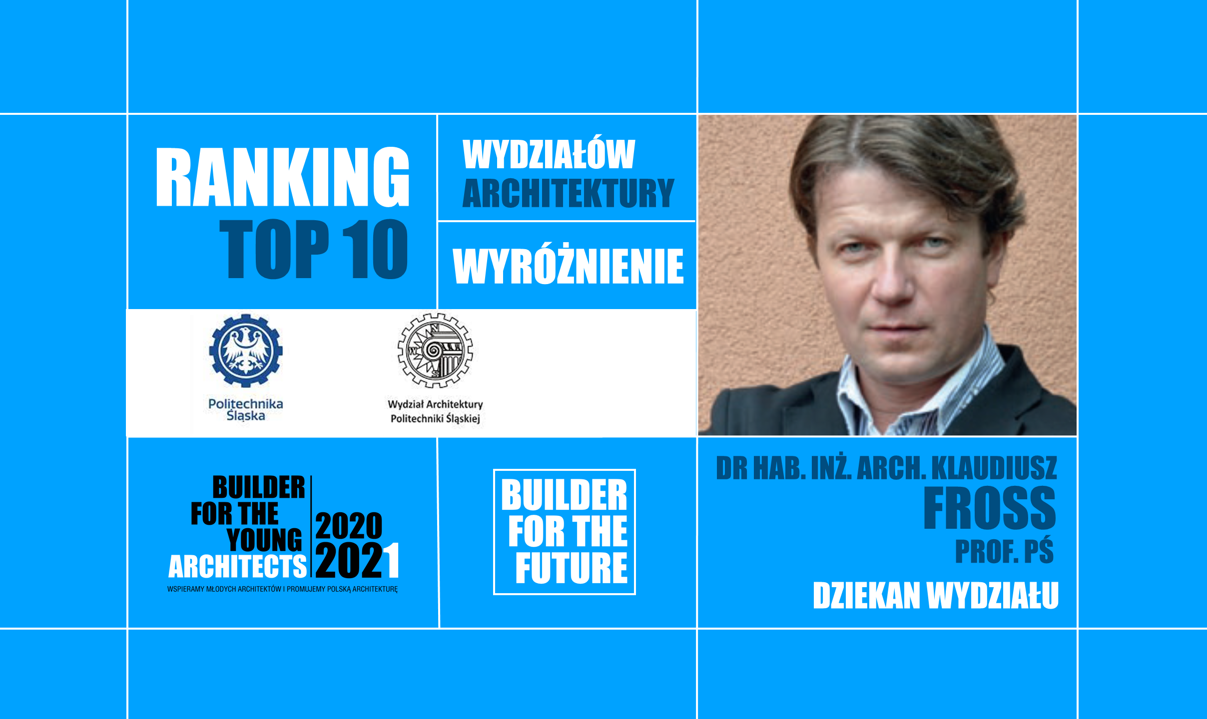 WYRÓŻNIENIE W RANKINGU TOP10 FOR THE FUTURE 2020/21