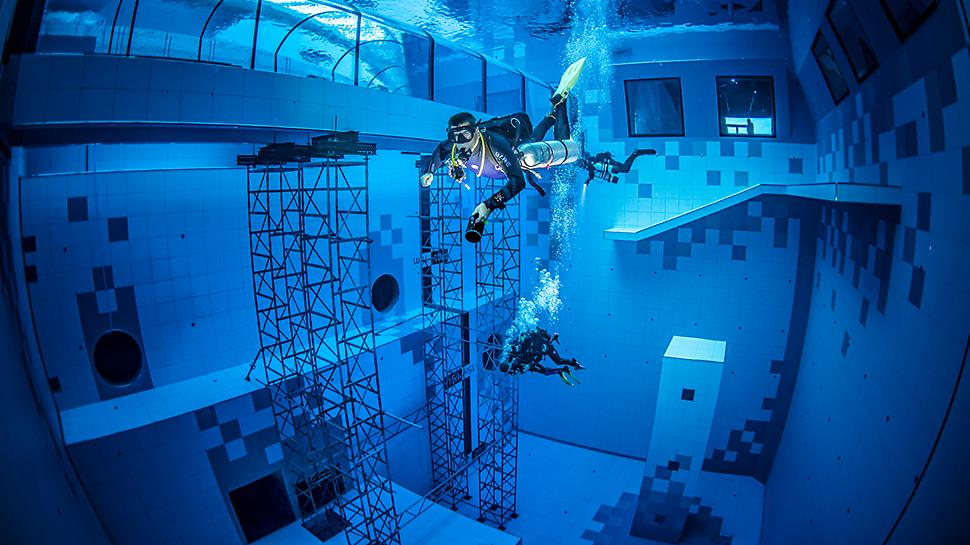 Systemy PERI można montować i demontować pod wodą!